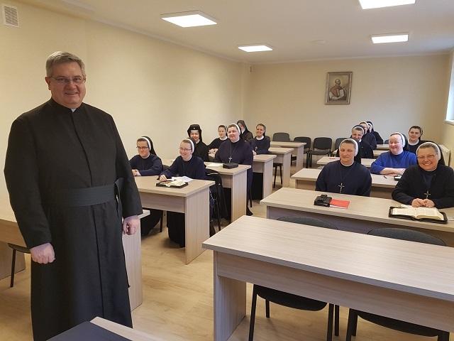 Dzień skupienia dla sióstr zakonnych – prowadził ks. Janusz Kręcidło MS, 1-2 marca 2019 roku