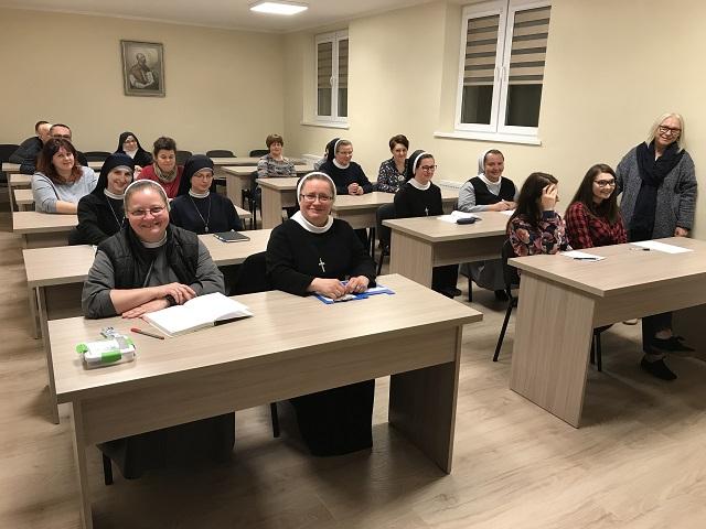"""Otwarta sesja formacyjna """"Moje dziedzictwo"""" – prowadziła pani Alicja Szumowska, 22-24 marca 2019 roku"""