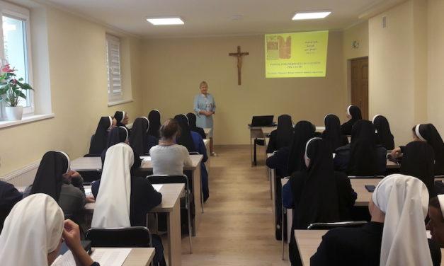 Dni skupienia dla sióstr – poprowadziła p. Bernadeta Jojko, 4-5 października 2019 roku